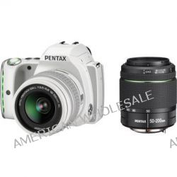 Pentax K-S1 DSLR Camera with 18-55mm and 50-200mm Lenses 06471