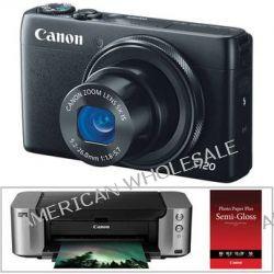 Canon PowerShot S120 Digital Camera with Inkjet Printer Kit B&H