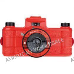 Lomography Sprocket Rocket 35mm Film Camera (Red) HP400RED B&H