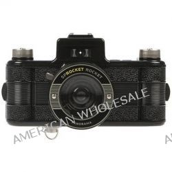 Lomography Sprocket Rocket 35mm Film Camera (Black) HP400 B&H