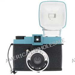 Lomography Diana F+ Medium Format Camera (Teal/Black) HP700 B&H