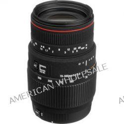 Sigma 70-300mm f/4-5.6 APO DG Macro Autofocus Lens 508110 B&H