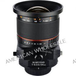 Samyang 24mm f/3.5 ED AS UMC Tilt-Shift Lens for Nikon SYTS24-N