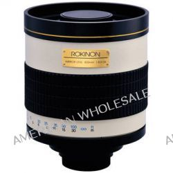 Rokinon 800mm f/8.0 Mirror T-Mount Lens (Tan) 800M B&H Photo