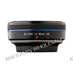 Samsung 30mm f/2.0 NX Pancake Lens (Black) EX-S30NB B&H Photo