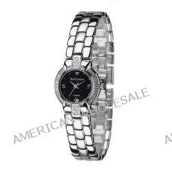 Yves Camani Damen-Armbanduhr XS DIADEM Silver/Black Analog Quarz Messing 426-LSI