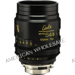 Cooke 100mm T2.8 miniS4/i Cine Coated Lens CKEP 100 B&H Photo