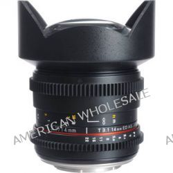 Bower 14mm T3.1 Super Wide-Angle Cine Lens For Olympus SLY14VDOD
