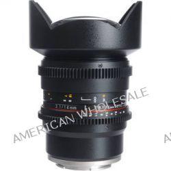 Bower 14mm T3.1 Super Wide-Angle Cine Lens For Sony E SLY14VDSE