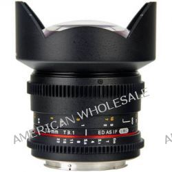 Bower 14mm T3.1 Super Wide-Angle Cine Lens For Sony SLY14VDS B&H