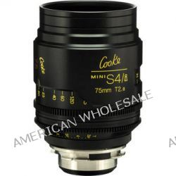Cooke 75mm T2.8 miniS4/i Cine Coated Lens CKEP 75 B&H Photo