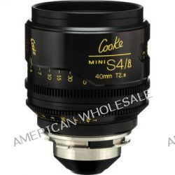 Cooke 40mm T2.8 miniS4/i Cine Coated Lens CKEP 40 B&H Photo
