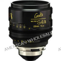 Cooke 25mm T2.8 miniS4/i Cine Coated Lens CKEP 25 B&H Photo