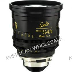 Cooke 18mm T2.8 miniS4/i Cine Coated Lens CKEP 18 B&H Photo