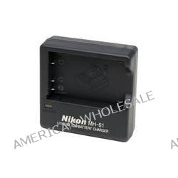 Nikon  MH-61 Battery Charger 25626 B&H Photo Video