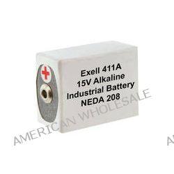 Exell Battery 411A 15V Alkaline Battery (180 mAh) 411A B&H Photo