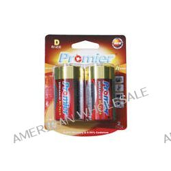 Promier D Super Alkaline High-Tech Batteries (2-Pack) HTLR20-BP2