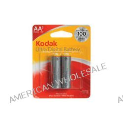 Kodak AA 1.5v Ultra Digital Oxy-Alkaline Battery (2 Pack)