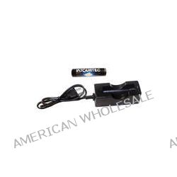 Tovatec 18650 Li-Ion Battery and Charger 18650 CHRGR B&H Photo