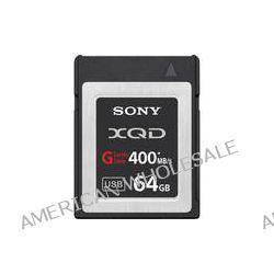 Sony 64GB G Series XQD Format Version 2 Memory Card QD-G64A B&H