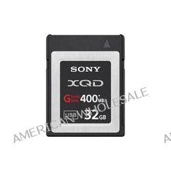 Sony 32GB G Series XQD Format Version 2 Memory Card QD-G32A B&H