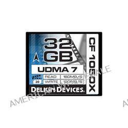 Delkin Devices 32GB CF 1050X UDMA 7 Cinema Memory DDCF1050-32GB