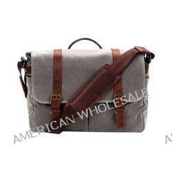 ONA Brixton Camera/Laptop Messenger Bag (Canvas, Smoke) ONA013GR
