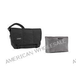 Timbuk2 Classic Messenger Bag with Snoop Insert (Small, Black)