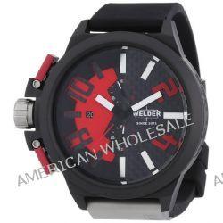 Welder Unisex-Armbanduhr Chronograph Quarz Kautschuk K35 2501