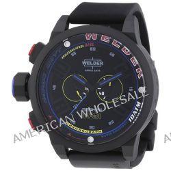 Welder Chronograph Quarz Kautschuk K31 2601
