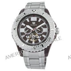 Wellington Herren-Armbanduhr XL Cork Analog Automatik Edelstahl WN301-141