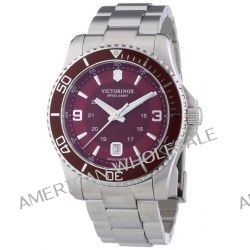 Victorinox Swiss Army Herren-Armbanduhr XL Maverick Analog Quarz Edelstahl 241604