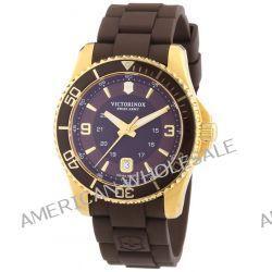 Victorinox Swiss Army Herren-Armbanduhr XL Maverick Analog Quarz Kautschuk 241608