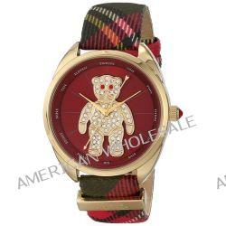 Vivienne Westwood Crazy Bear Ladies Swarovski Crystal Watch VV103RDBR
