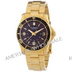 Victorinox Swiss Army Damen-Armbanduhr XS Maverick Analog Quarz Edelstahl beschichtet 241614