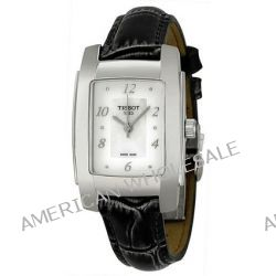 Tissot Damen-Armbanduhr T10 Lady Analog Quarz Leder T073.310.16.116.00