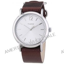 Timex Damen-Armbanduhr Timex Weekender Analog Quarz Leder T2P341