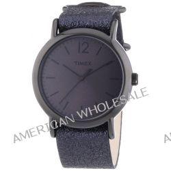 Timex Damen-Armbanduhr Timex Weekender Analog Quarz Leder T2P337