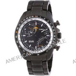 Timex Herren-Armbanduhr XL Aviator Fly-Back Chrono Chronograph Quarz Edelstahl T2P103