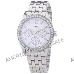 Timex Damen-Armbanduhr XS Timex Style Kaleidoscope Women Analog Quarz Edelstahl T2P192