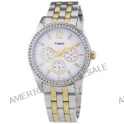 Timex Damen-Armbanduhr XS Timex Style Kaleidoscope Women Analog Quarz Edelstahl T2P193