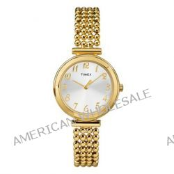Timex Damen-Armbanduhr XS Timex Style Women's Dress Analog Quarz Messing T2P205