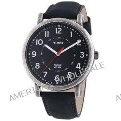 Timex Unisex-Armbanduhr Timex Style Originals Classic Round Analog Quarz Leder T2P219