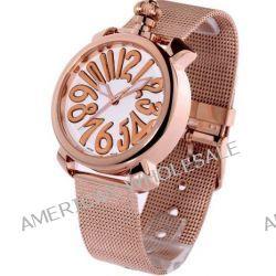 Time100 Reizende GaGa-stilistische Frabige Emaille-Damen-Armbanduhr W50046L.10A
