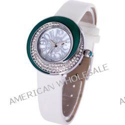 Time100 Aroma-Rose-Serie Schöne Strass-Damen-Armbanduhr W50003L.06A