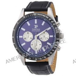 TP Time Piece Herren-Armbanduhr XL High Tech Chrono Chronograph Quarz Leder TPGA-20109-31L