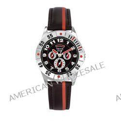 Trendy Junior Unisex-Armbanduhr Analog Leder schwarz KL 180