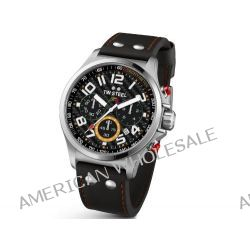 TW Steel Unisex-Armbanduhr Pilot Sonder Edition Chronograph Quarz Leder TW-432