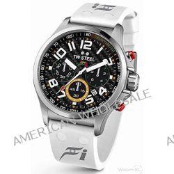 TW Steel Herren-Armbanduhr XL Pilot Sonder Edition Chronograph Quarz Kautschuk TW-429