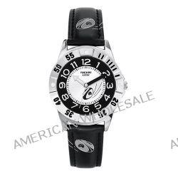 Trendy Junior Jungen-Armbanduhr Analog Leder schwarz KL 178